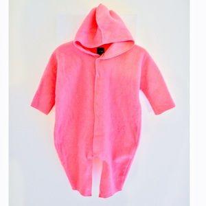 💕Baby Gap Hot Pink modern fleece Bunter 💕